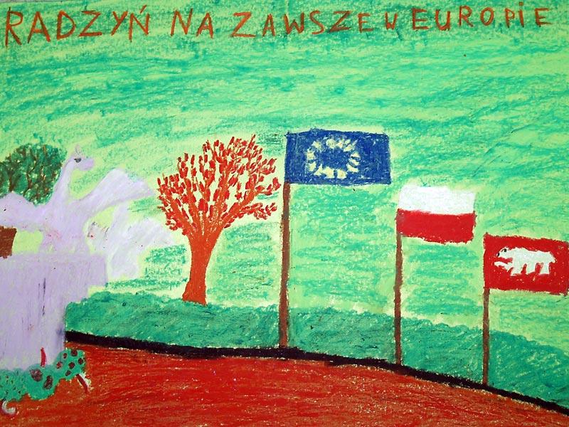 You are browsing images from the article: Konkurs plastyczny 'Europa - Radzyń, Radzyń - Europa' rozstrzygnięty